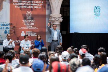Con rezago educativo 175 mil personas en Aguascalientes