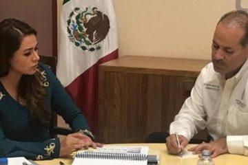 Celebra diputada reunión de alcaldesa y gobernador