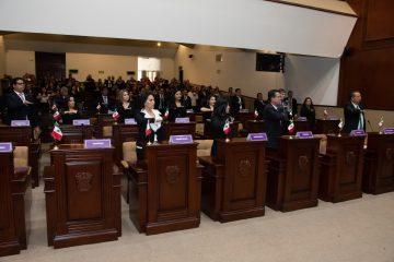 LXIV Legislatura apertura segundo periodo ordinario de sesiones