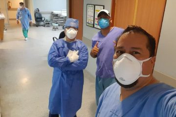 Protestan empleados del IMSS por falta de equipo para atender Pandemia