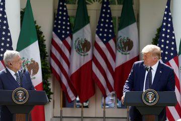 Divide a mexicanos la visita de AMLO a Estados Unidos