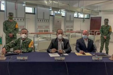 Militares atenderán enfermos de Covid-19 en Aguascalientes